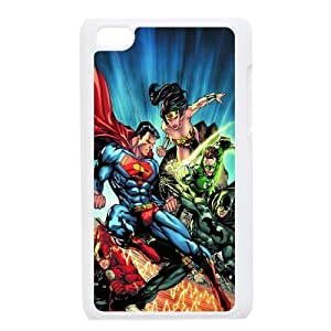 Custom Super Woman Back Cover Case for ipod Touch 4JNIPOD4-188