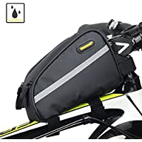 Sodee Bike Bag Top Tube Bag Front Tube Frame Bag Double...