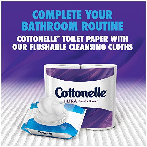 Large Product Image of Cottonelle Ultra ComfortCare Big Roll Toilet Paper, Bath Tissue, 12 Toilet Paper Rolls