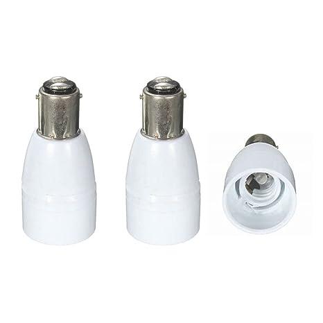 TEN E14 Male To E26 E27 Female Base LED Halogen Light Bulb Lamp Adapters convert