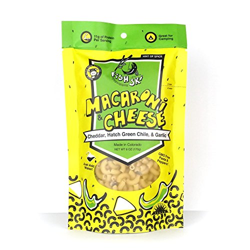 Price comparison product image FishSki Macaroni and Cheese, Hatch Green Chile and Cheddar (1)