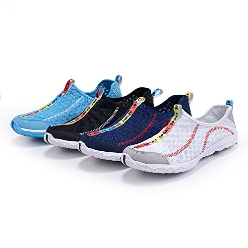 Dark Womens BingHang Quick Aqua Water Drying Mesh Water Blue for Perfect Lightweight Breathable Sports and Shoes Sw6dwr4q