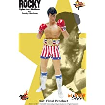 Rocky Hot Toys Sideshow Collectibles Deluxe 12 Inch Action Figure Rocky Balboa by Hot Toys