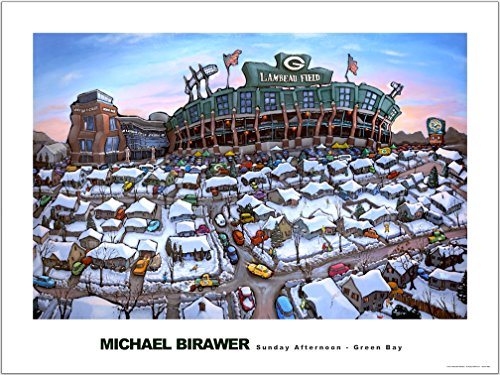 (Sunday Afternoon - Green Bay Poster 24x32)