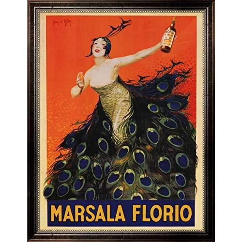 Metaverse 'Marsala Florio' Framed Art - Multi ()