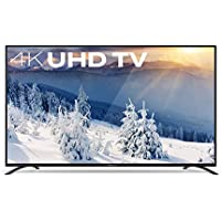 Furrion FEUS75F1A 75-Inch 4K LED Ultra HD TV, Black Stainless Steel (2017 Model)