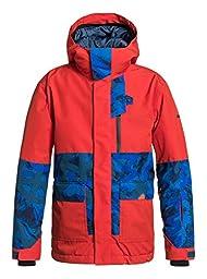 Quiksilver Big Boys\' York Youth Jacket, Poinciana, Medium/12