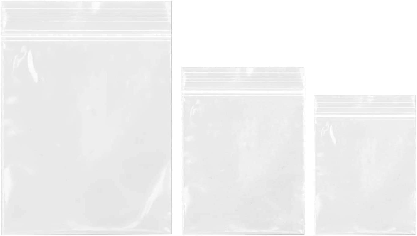 """20000 Clear 2/"""" x 3/"""" Ziplock Bags Small Reclosable 2 mil Jewelry Resealable USA"""