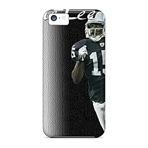 High Impact Dirt/shock Proof Case Cover For Iphone 5c (oakland Raiders)