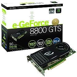 Evga E-geforce 8800gts 320 Mb Pcie Video Card