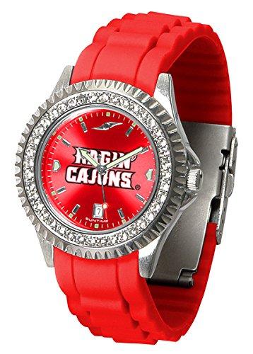 Louisiana Lafayette Ragin' Cajuns Sparkle Women's - Ladies Watch Sport Steel Cajuns