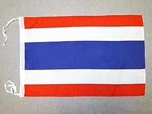 AZ FLAG Bandera de Tailandia 45x30cm - BANDERINA TAILANDÉSA 30 x 45 cm cordeles