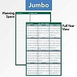 2021 Erasable Calendar, Dry Erase Wall Planner by