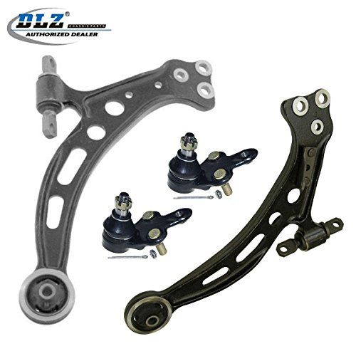 DLZ 4 Pcs Front Suspension Kit-2 Lower Control Arm 2 Lower Ball Joint Compatible with 1997 1998 1999 2000 2001 Toyota Camry Lexus ES300 1997 1998 Toyota Avalon 1999 2000 2001 2002 2003 Lexus RX300 ()