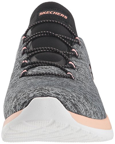 Black Mujer coral Zapatillas Bkcl Dynamight Foam Memory Skecher AnUpHSWn