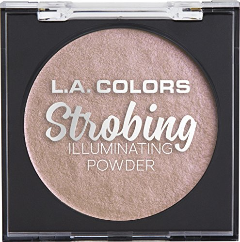 L.A. COLORS Strobing Illuminating Powder, Flashing Pink, 1 Ounce