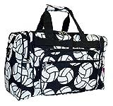 N. Gil Volleyball Print Duffle Bag