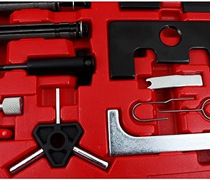 Hengda/® Arretier strumento cinghia dentata set di attrezzi cinghia dentata cambio Audi VW Seat Skoda