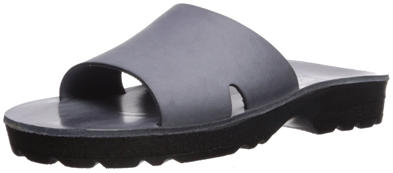 Jerusalem Sandals Women's Bashan Molded Footbed Slide Sandal B075KZ5VF9 38 Medium EU (7-7.5 US)|Grey