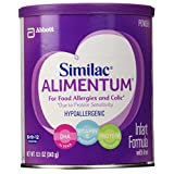 Similac Expert Care Alimentum Hypoallergenic Infant Formula with Iron, Powder, 12.1 Ounces (Pack of 5)