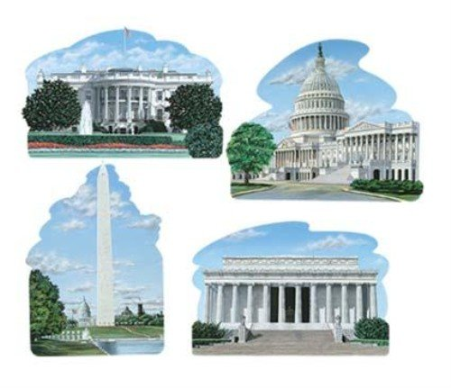 Washington DC Cutouts Party Accessory (1 count)