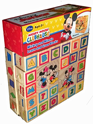 Mickey Mouse 123 - Mickey and Minnie Learn and Grow Blocks