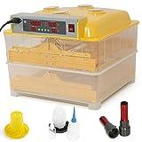 ARKSEN Automatic 96 Egg Incubator, Digital Temp Control, Poultry Hatcher, Auto Turner-110v