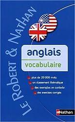 Anglais vocabulaire