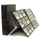 BCW 1-ALB2K-PL-BLK Break-Back Display Album Black/Schwarz