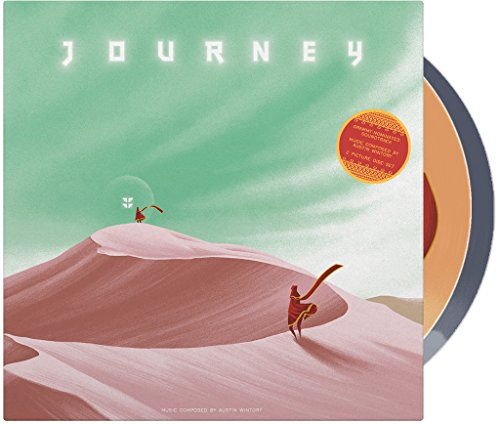 Journey Vinyl Soundtrack 2xLP Picture Disc (Video Game Vinyl)