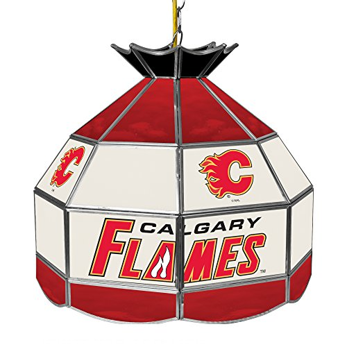 Calgary Flames Pool Table Light, Flames Billiards Table