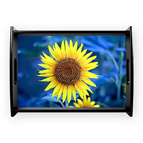 Large Serving Tray Young Sunflower (Tray Serving Field)