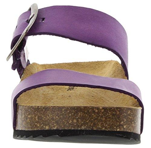 Oak & Hyde Alicante - Vintage Lilac Leather (BURKINSTOCK Style Sandals) smnMAeEP0