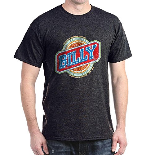 (CafePress Billy Beer Dark T Shirt 100% Cotton T-Shirt Charcoal)