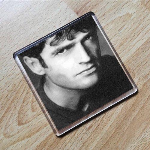 RUPERT EVERETT - Original Art Coaster #js001