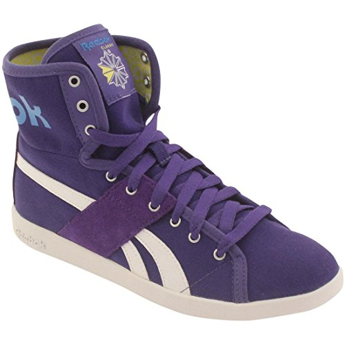 Reebok Womens Top Down Sneaker Viola / Bianco / Blu