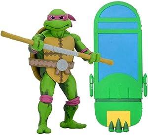NECA - Figurine TMNT - Donatello 18cm - 0634482541050