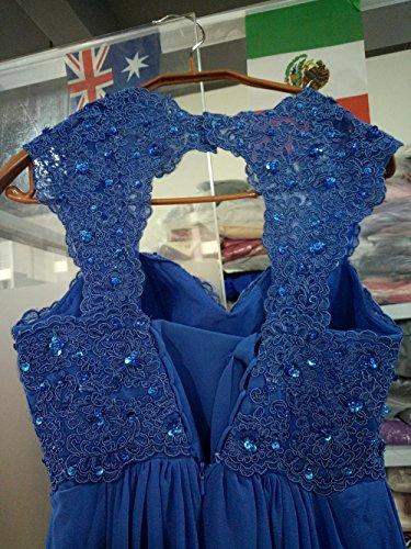 Kleid Rueckenfrei Linie Langes Elfenbein Brautkleid Schnuerung A Chiffon Spitze Aiyana Abendkleid Rueckenfrei 7SnCqXxq6
