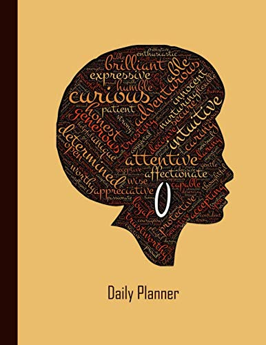 Daily Planner: 2019 - 2020 Planner | Black Female African American Afro Hair Woman | January 19 - December 19 | Writing Notebook | Datebook Calendar Schedule | Plan Days, Set Goals & Get Stuff Done by Independently published