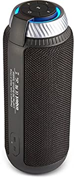 Envent LiveFree 590 ET-BTSP590 Wireless Portable Bluetooth Speakers (Black) Bluetooth Speakers at amazon