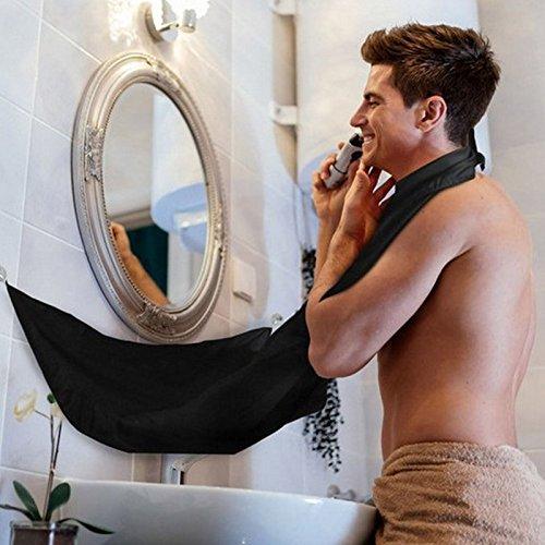 Shave Apron Bib Trimmer Facial Hair Cape Sink Color Random 120x70 cm Man Bathroom Man Waterproof Floral Cloth