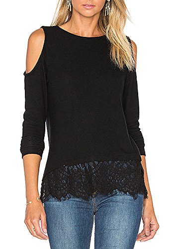 Blooming Jelly Womens Shoulder Sleeve