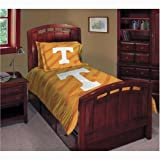 NCAA Tennessee Vols Twin/Full Comforter with Two Pillow Shams