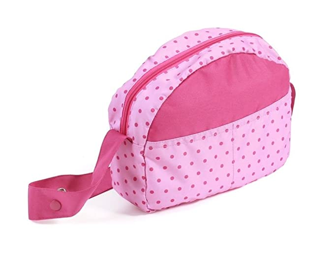 Amazon.com: Bayer Chic 2000 853 31 Dolls Changing Bag Dots Pink: Toys & Games