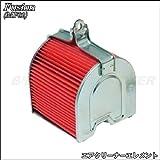 バイクパーツセンター エアクリーナー フィルター 補修用エレメント ホンダ フュージョン MF02 80-88