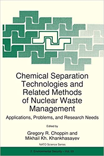 Separation Methods for Waste and Environmental Applications
