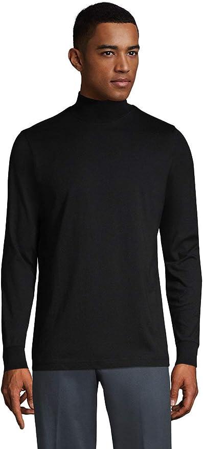 1960s Mens Shirts | 60s Mod Shirts, Hippie Shirts Lands End Mens Super-T Mock Turtleneck $26.66 AT vintagedancer.com