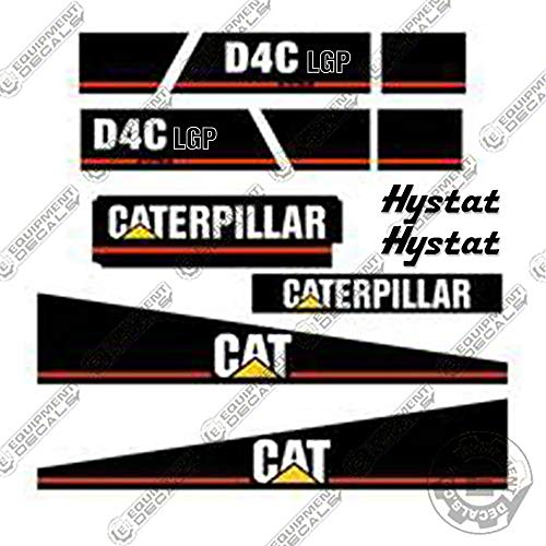 Caterpillar D4C LGP Series 3 Dozer Equipment Decals