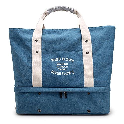 Artwell Canvas Handbag Large Top Handle Bag Tote Purse Shoulder Bag for Women by Artwell