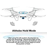 Syma-X5UW-Wifi-FPV-Drone-with-720P-HD-Camera-24Ghz-RC-Quadcopter-with-Flight-Route-Setting-and-Altitude-Hold-Function-Bonus-Battery-Included